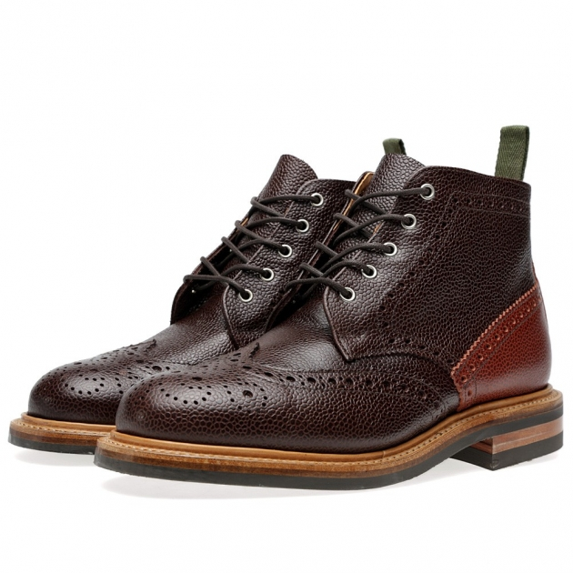 Mark McNairy Commando Sole Low Boot
