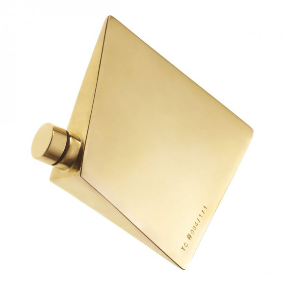 #084/1 Brass hipflask