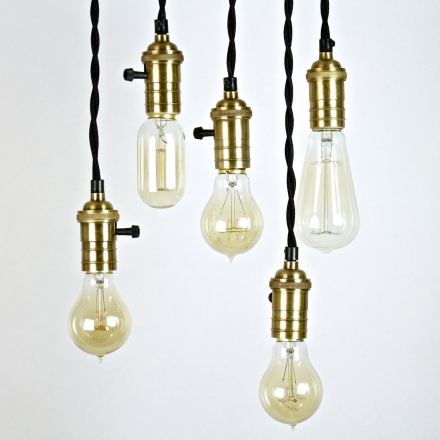 PENDANT – EDISON BULB HOLDER