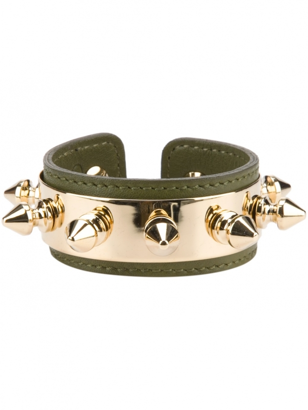 AURELIE BIDERMANN spike cuff
