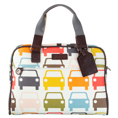 Orlakiely Car Laptop Bag