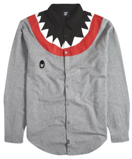 Lazy Oaf Shark Long Sleeve Shirt