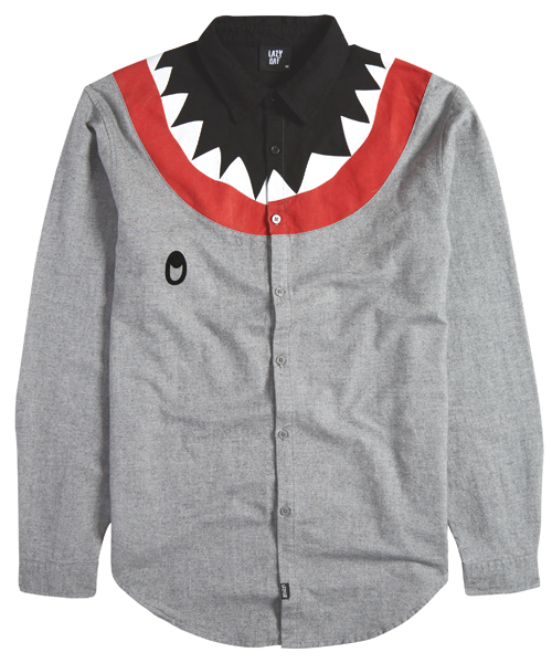 Lazy Oaf Shark Long Sleeve Shirt