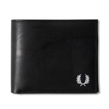 Fred Perry x Drake's Geometric Billfold Coin Wallet