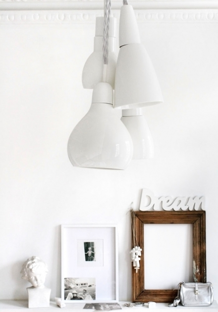 Kathleen Hills Cluster light – White