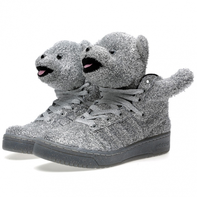 Adidas ObyO x Jeremy Scott Bear 'Tinsel'