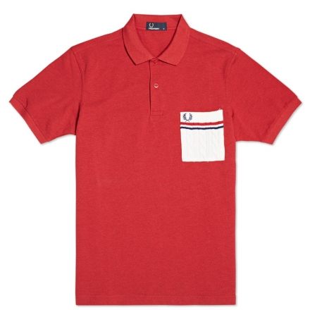 Fred Perry British Knitting Patterns Knitted Pocket Polo