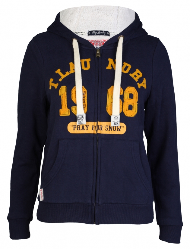 Mary Zip Up Hoodie