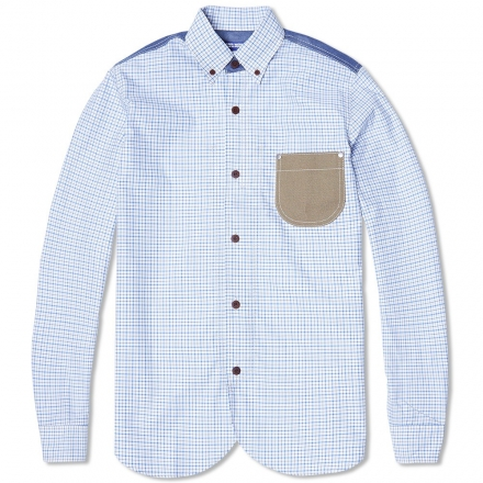 Junya Watanabe MAN Patchwork Check Work Shirt