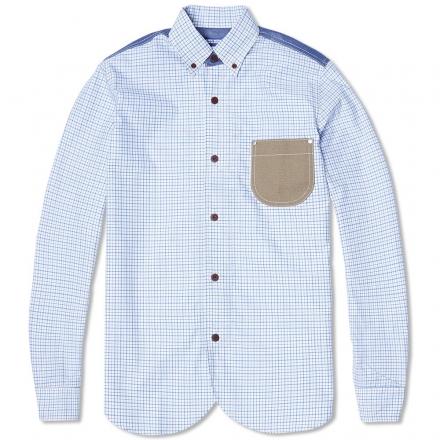 Junya Watanabe MAN Patchwork Check Work Shirt