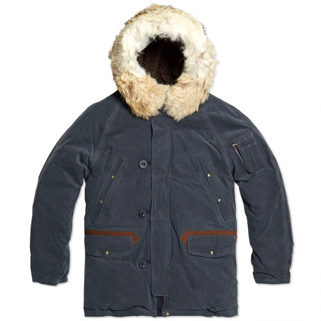 Visvim Valdez 2L Gore-Tex Corduroy Down Jacket