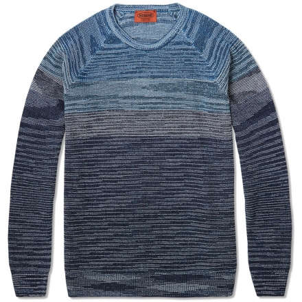 Missoni Degraded Stripe Crew