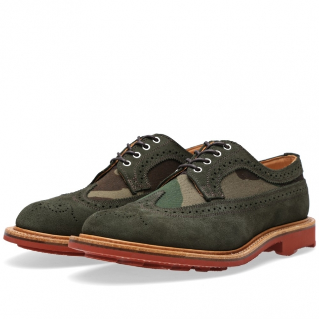 Mark McNairy Ridgeway Sole Long Wing Brogue