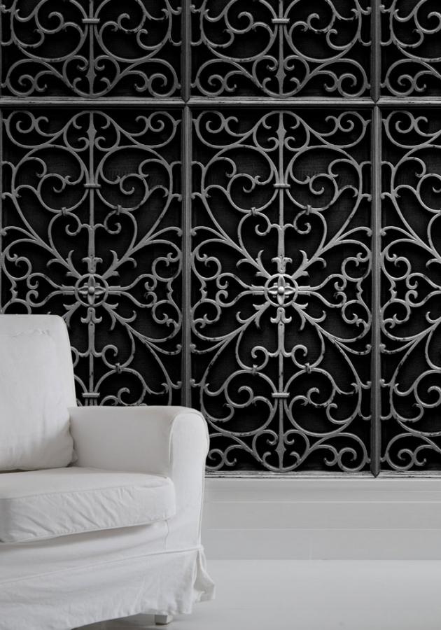 Wallpaper Wrought Iron