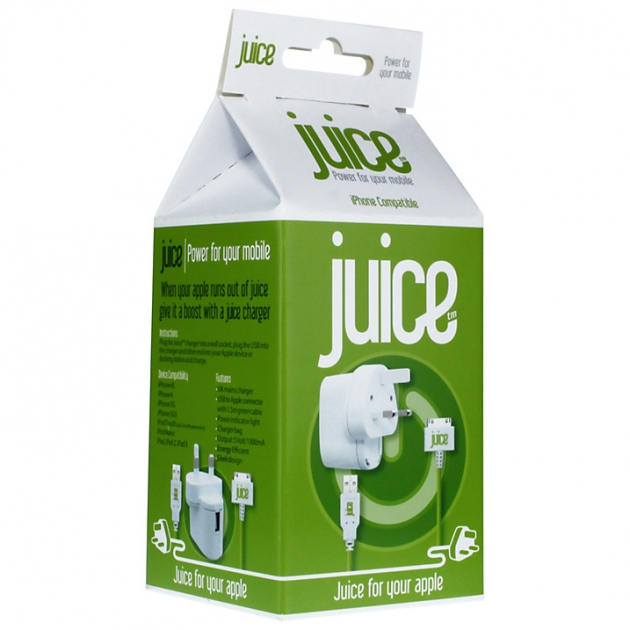 Juice Apple Juice Home Charger for Apple