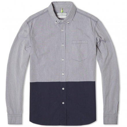 Over All Master Cloth Painted Swingback Shirt