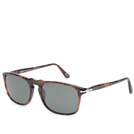 Persol 3059S Square Framed Polarised Aviator Sunglasses