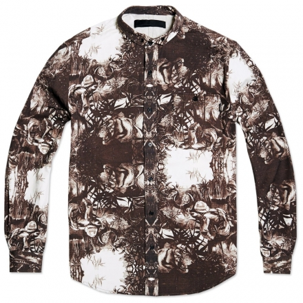 Black Scale Sultan Shirt