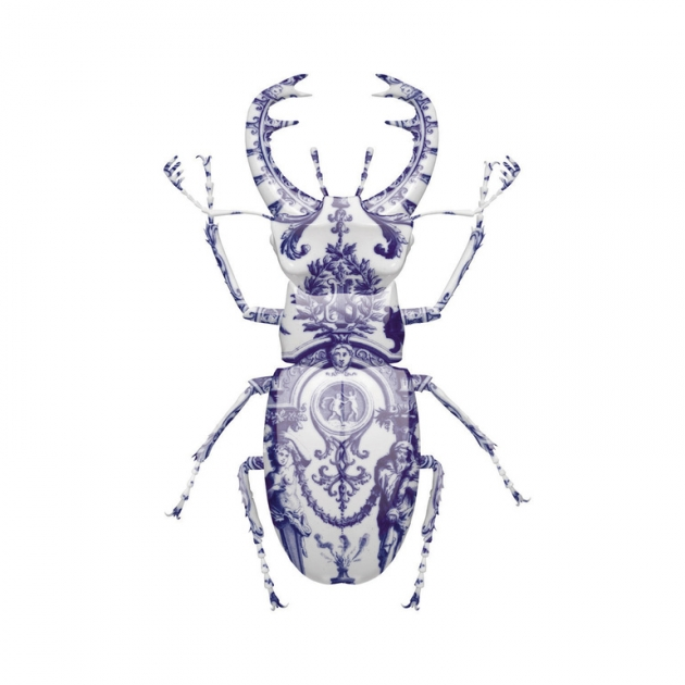DELFT STAG BEETLE ARTIST PROOF