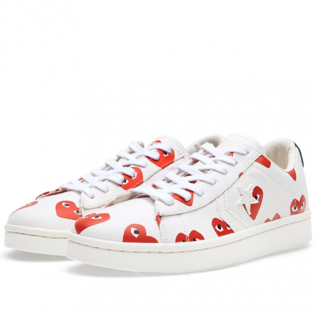 Comme des Garcons Play | Converse Pro Leather Low