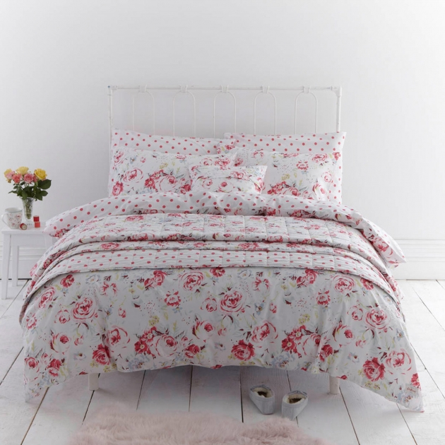 GREENWICH ROSE KING DUVET COVER