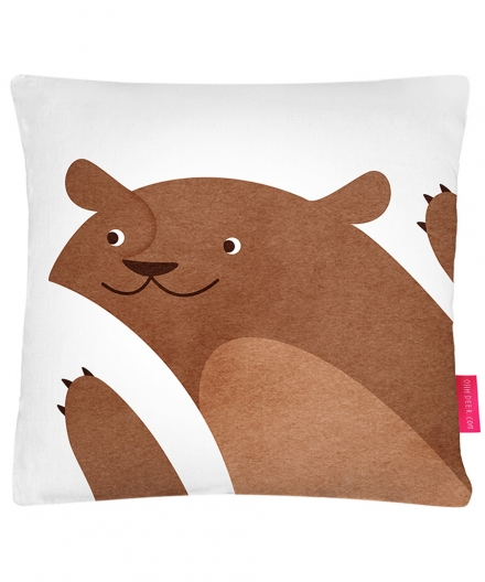 Anna Brown Bear Cushion