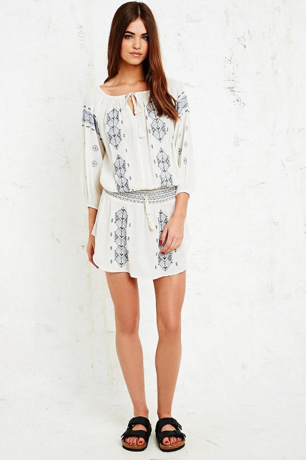 Denim & Supply Ralph Lauren Embroidered Dress