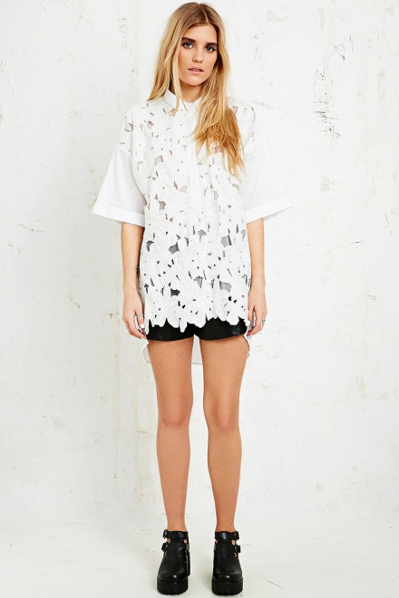 Little White Lies Penelope Oversized Shirt Dress