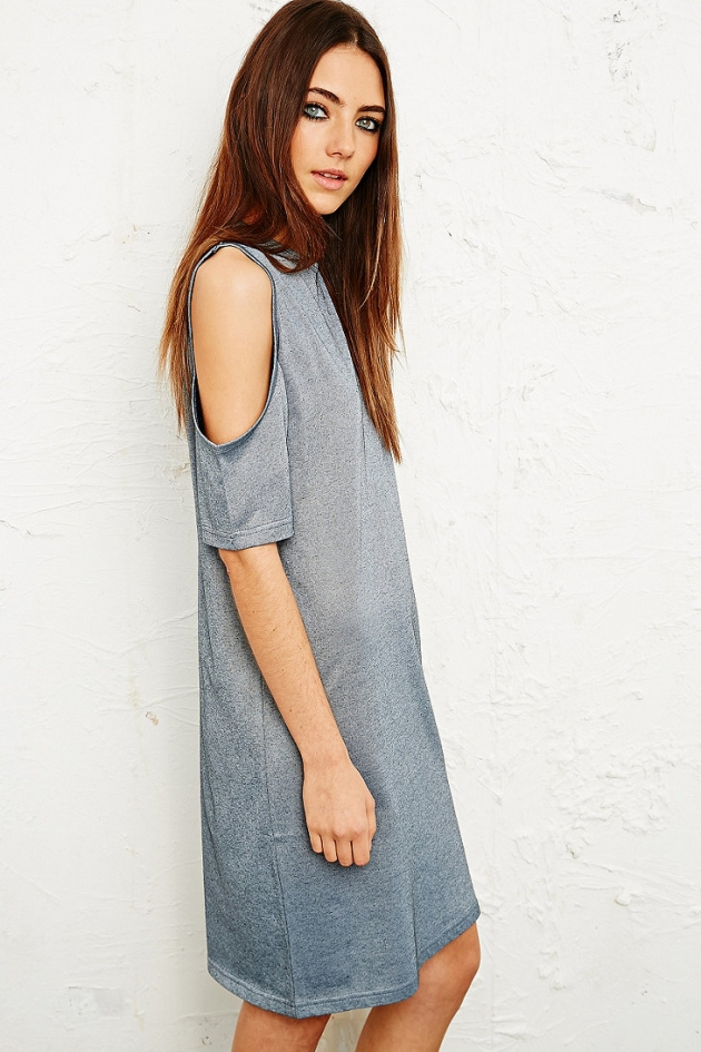Cheap Monday Visible Shoulder Dress in Silver