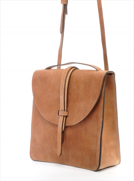 Tan Cross Body Prussia Bag- Back in stock