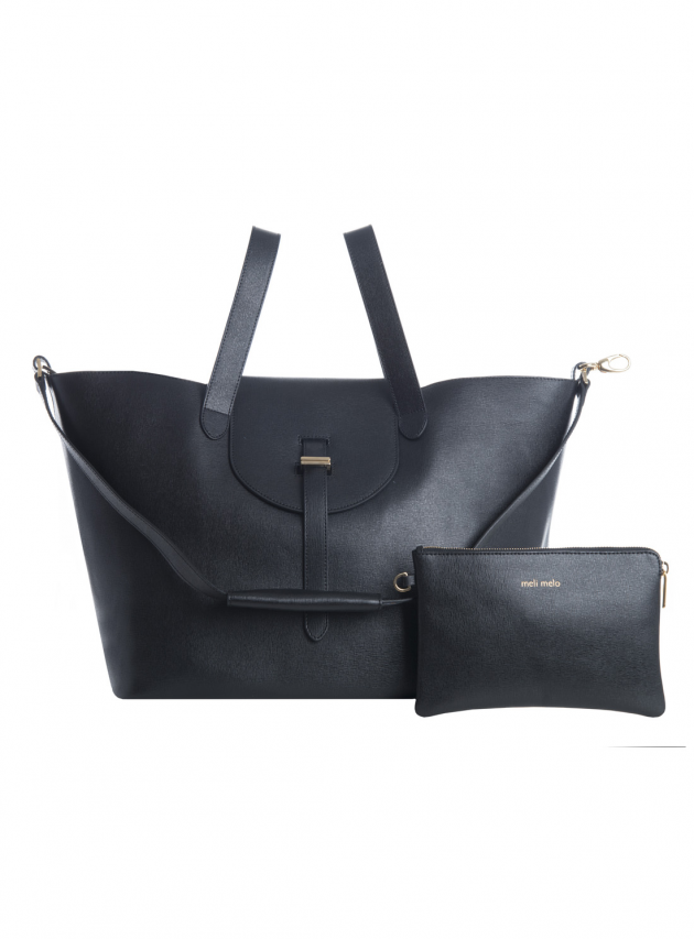 Thela Bag in Black Lux (New Colour)