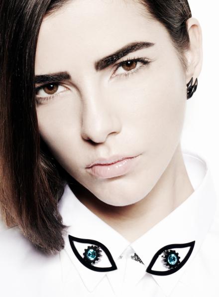 Bright Eye Swarovski Collar Pins
