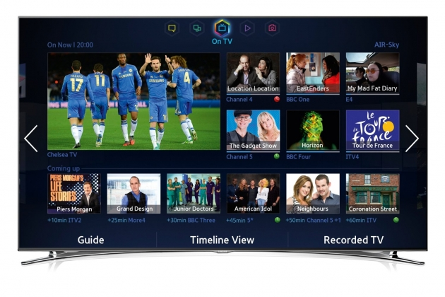 SAMSUNG UE46F8000 LED 3D Smart TV