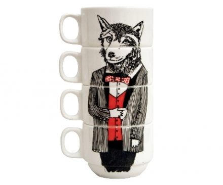 Mr Wolf Coffee Cups