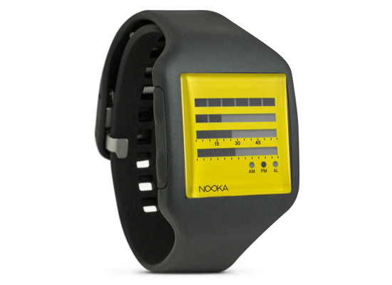 Nooka Zub Zenh 20 Watch – Black/Yellow