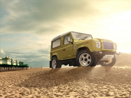 Twisted Land Rover Defender – The Retro Edition