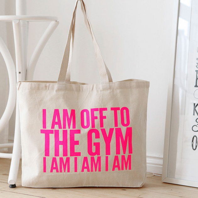 GYM BAG TOTE