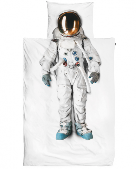 Astronaut bedlinen 1 person / W 140 x L 200 cm – Snurk