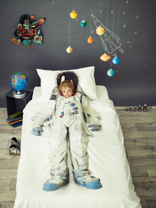 Astronaut Print Duvet Set