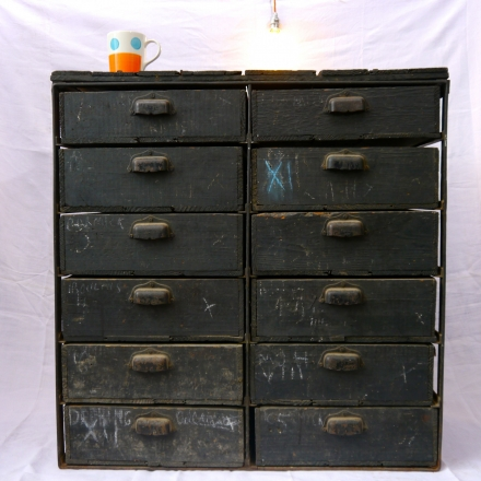 Blacksmith's Chest-of Drawers