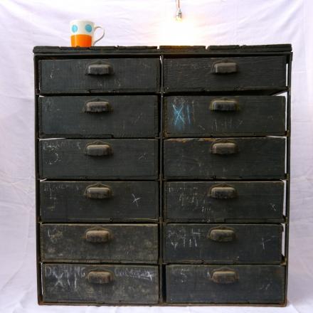 Blacksmith's Chest-of Drawers