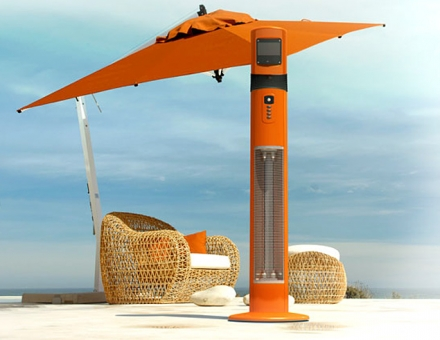 CHILLCHASER POSEIDON PATIO HEATER