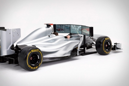 Full Size Racing Car Simulator