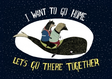 I Want to go Home Print