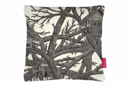 Tree Houses Cushion