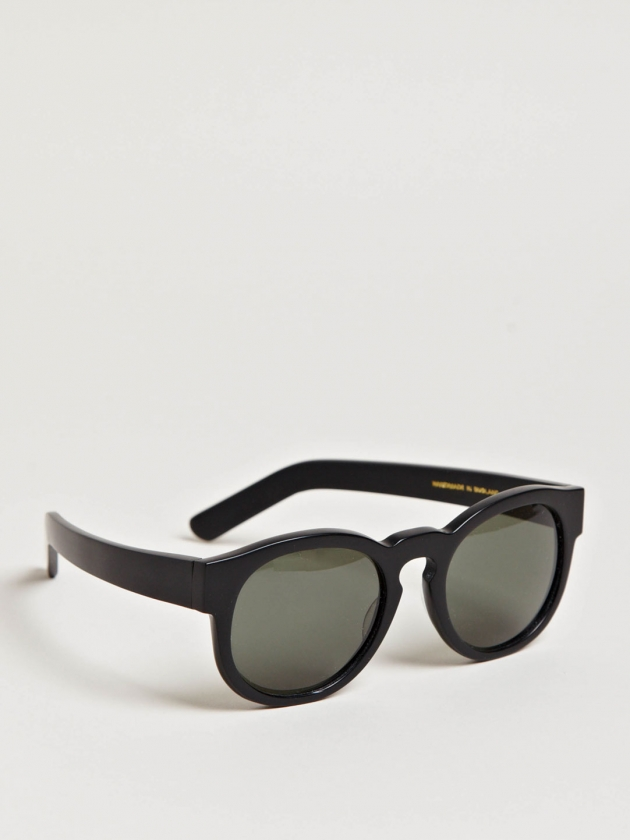 LARKE UNISEX GILL MATT BLACK SUNGLASSES