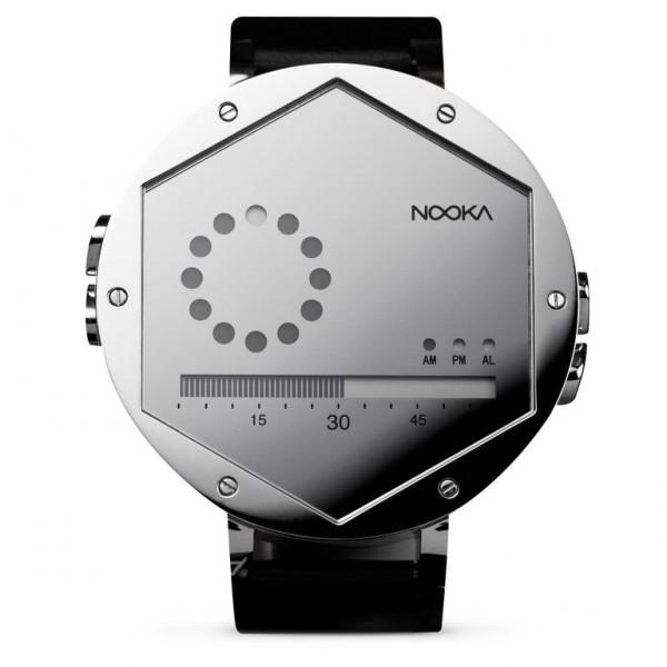 Nooka Zex Watch – Silver