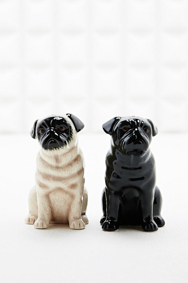 Salt & Pepper Pugs