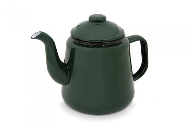 Enamel Camping Teapot