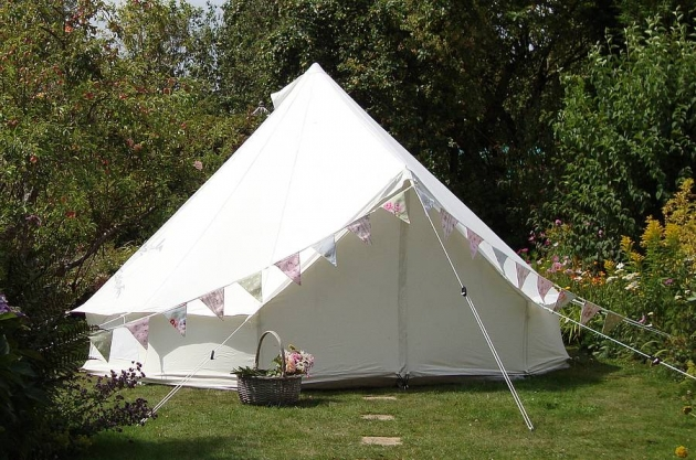 Glamping Canvas Bell Tent